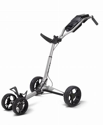 Golf Push Cart Carts Mountain Sun Silver