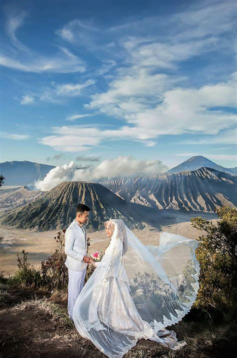 destinasi foto prewedding  indonesia  keren