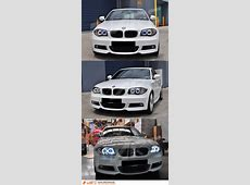 Black CCFL AngelEyes Projector Head Lights for BMW E81