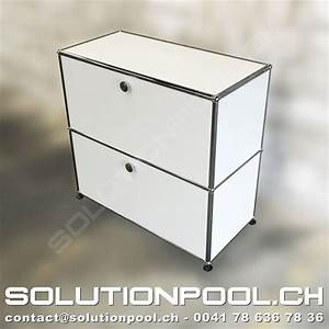 Usm Second Hand : usm highboard weiss solutionpool first class second hand for home and office ~ Sanjose-hotels-ca.com Haus und Dekorationen