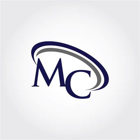 monogram mc logo design  vectorseller thehungryjpegcom