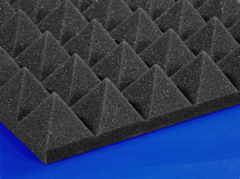 soundproofing acoustical pyramid foam foam  mail