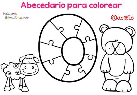 Abecedario para colorear (16) Imagenes Educativas