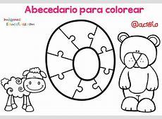 Abecedario para colorear 16 Imagenes Educativas