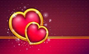 Love Heart Card Valentines Day Hd Wallpaper Wallpapers ...