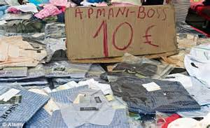 Counterfeit goods: Over half of UK holidaymakers fall for