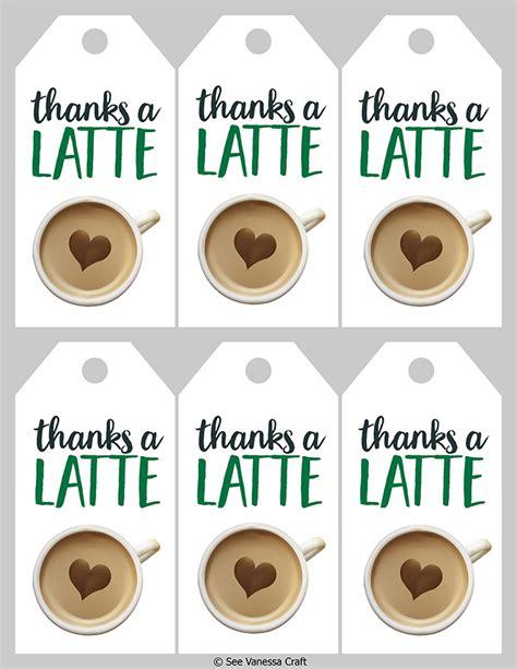 latte starbucks teacher gift idea