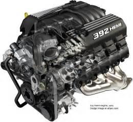 SRT V8 Engines: 6 1 and 6 4 (392) V8s; Supercharged 6 2 Hemi