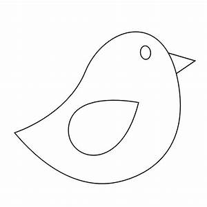 Bird Clipart Black And White | Clipart Panda - Free ...