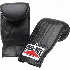 Pro Box Punch Bag Mitts Black Collection