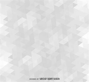 Polygonal gray background pattern - Vector download