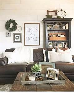 Farmhouse, Living, Rooms, U2022, Modern, Farmhouse, Living, Room, Decor, Ideas, Family, Rooms, Dens