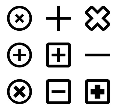 Plus Icons - 1,637 free vector icons