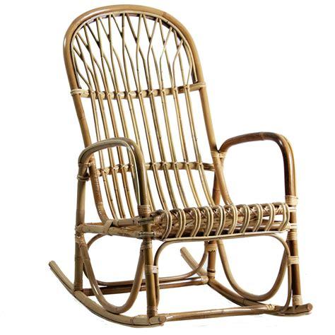 rocking chair en rotin rocking chair en rotin brin d ouest