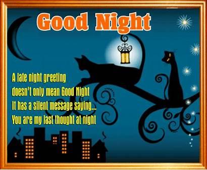 Night Card Goodnight Ecard Cards Greetings Greeting