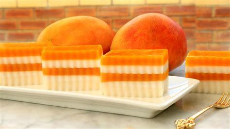 agar agar cuisine josephine 39 s recipes mango coconut jelly agar agar cake
