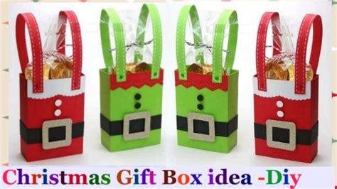 how to make a christmas gift box christmas gift box