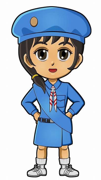 Guides Japan Scout Uniform Scouts Thinking Paper
