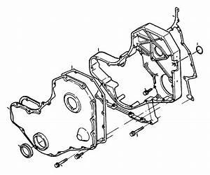 Dodge Ram 3500 Cover  Timing Belt  Emissions  Federal