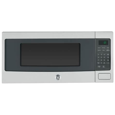 Best Buy Countertop Microwaves by Ge 1 1 Cu Ft Countertop Microwave Cem11sfc Stainless