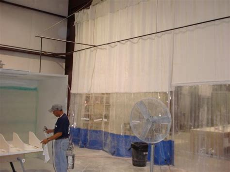woodworking curtains dust control curtains industrial
