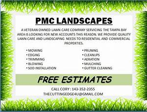 free landscaping flyer templates to power lawn care With landscaping flyers templates