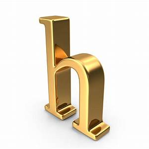 gold small letter h png images psds for download With small gold letters