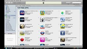How Download Apps From The iTunes App Store - YouTube