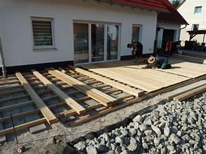 Holz Für Die Terrasse : terrasse holz douglasie oder l rche ~ Markanthonyermac.com Haus und Dekorationen