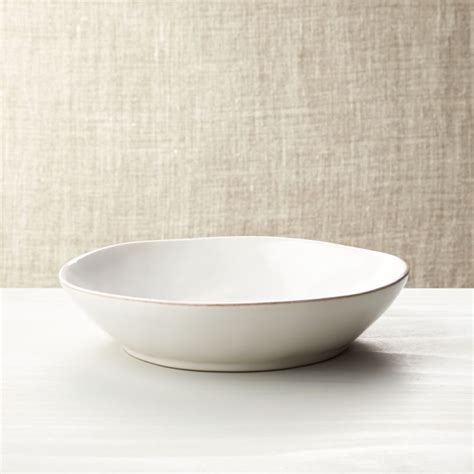 marin white  bowl reviews crate  barrel