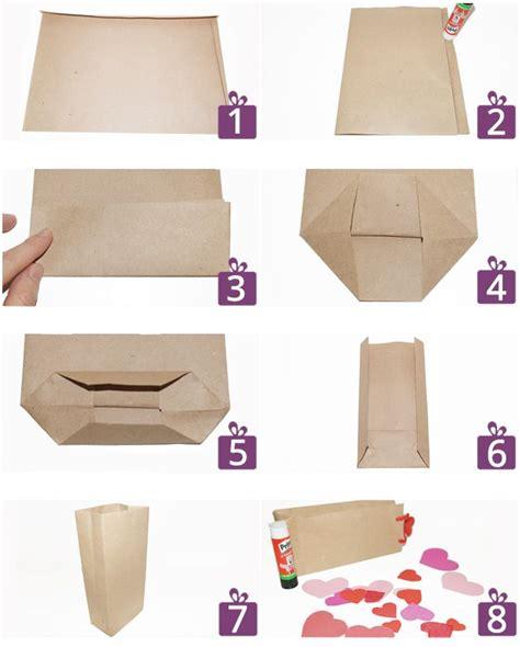 fotoanleitung fuer eine herzchen geschenktuete geschenktuete basteln geschenktueten und tuete basteln
