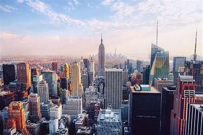 Manhattan 4k Building Empire State York Ultra
