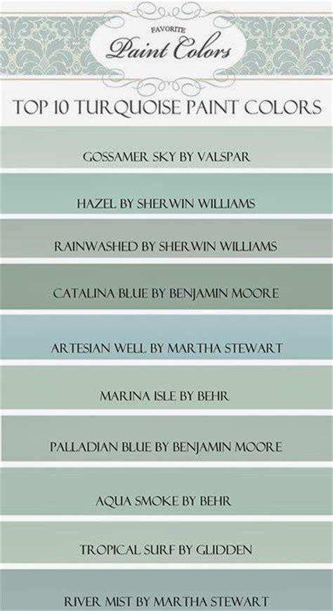 my top ten quot turquoise quot paint colors favorite paint