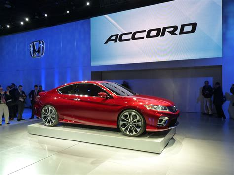 Honda Accord Coupe Concept Live Photos 2012 Detroit Auto Show