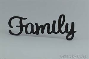 family wooden wall sign family wall decor family wall With family wooden wall letters
