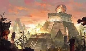 Mayan Civilization, Gao ZhingPing on ArtStation at https ...