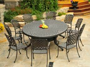 cast aluminium patio furniture for your backyard