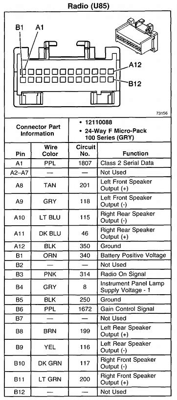 2000 Ford Focu Radio Wiring Color Code by I Cut The Wires For My Car Stereo Because I Couldn T Get A