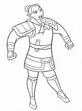 Mulan Coloring Pages Armor Getcoloringpages sketch template
