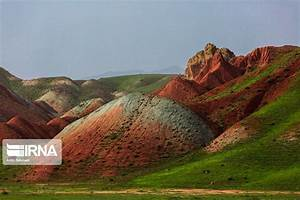 photos aladaghlar rainbow mountains in iran
