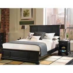 bedford 2 piece bedroom set complete queen bed and night