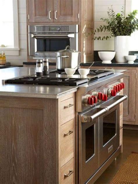 smart kitchen islands  built  appliances digsdigs