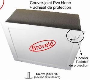 Trappe De Plafond : trappe comble bois isolante couvre joint pvc blanc ~ Premium-room.com Idées de Décoration