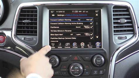 jeep grand cherokee srt infotainment review