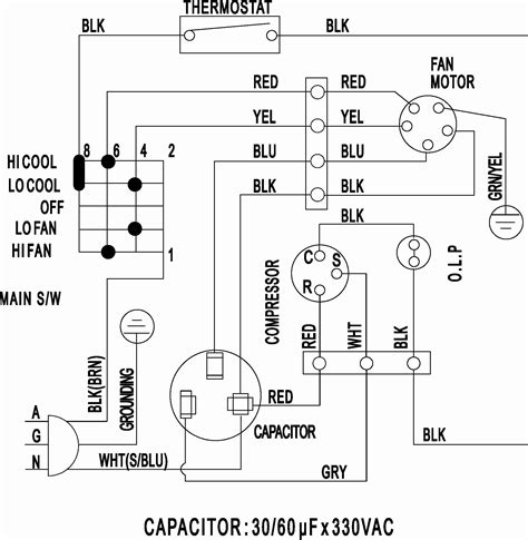 split air conditioner wiring diagram sle