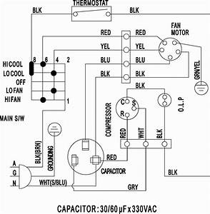 Window Ac Csr Wiring Diagram