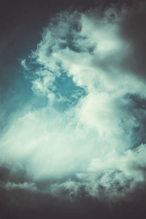 photo texture sky clouds wind storm  image
