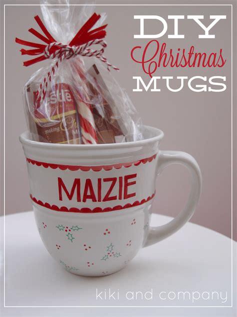 diy christmas mugs  heart nap time
