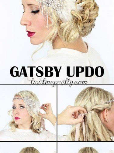 1920 Hairstyles Tutorial by 1920s Flapper Hairstyle Tutorial Foto