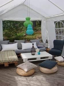 Salon De Jardin En Palette Moderne : salon de jardin en palette pinterest ~ Melissatoandfro.com Idées de Décoration
